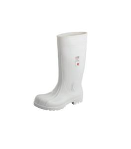 PVC/Nitril weiße Gummistiefel 38 cm SAFE GIGANT* STIEFEL M.REFLEX S4 Gr. 37-48