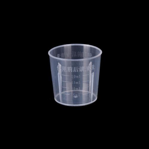 20-1000ML Labor Küche Transparente Kunststoff Messbecher Messkanne Maßbec