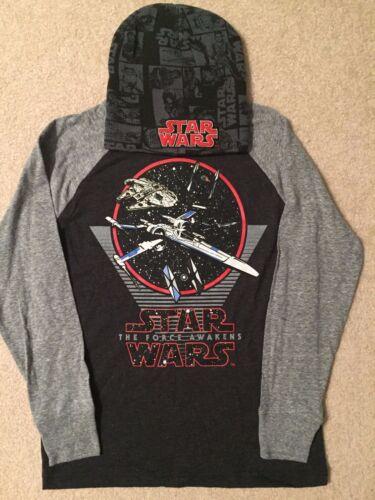 STAR WARS The LAST JEDI Han SOLO X-WING Tie-Fighter BOYS New t-Shirt HAT Cap SET
