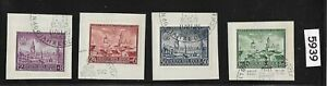 1942-First-day-Stamp-set-Third-Reich-occupation-of-Lublin-Poland-during-WWII