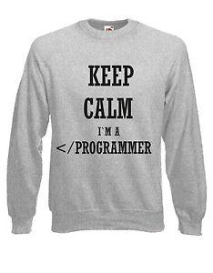 Funny Casual Jumper wellcoda Programmer Quote Mens Sweatshirt