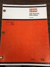 Case 2590 Tractor Parts Catalog Book Manual Rac A1363