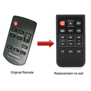 For-Panasonic-N2QAYC000063-SC-HTB350-SC-HTB550-Remote-Control-With-Battery