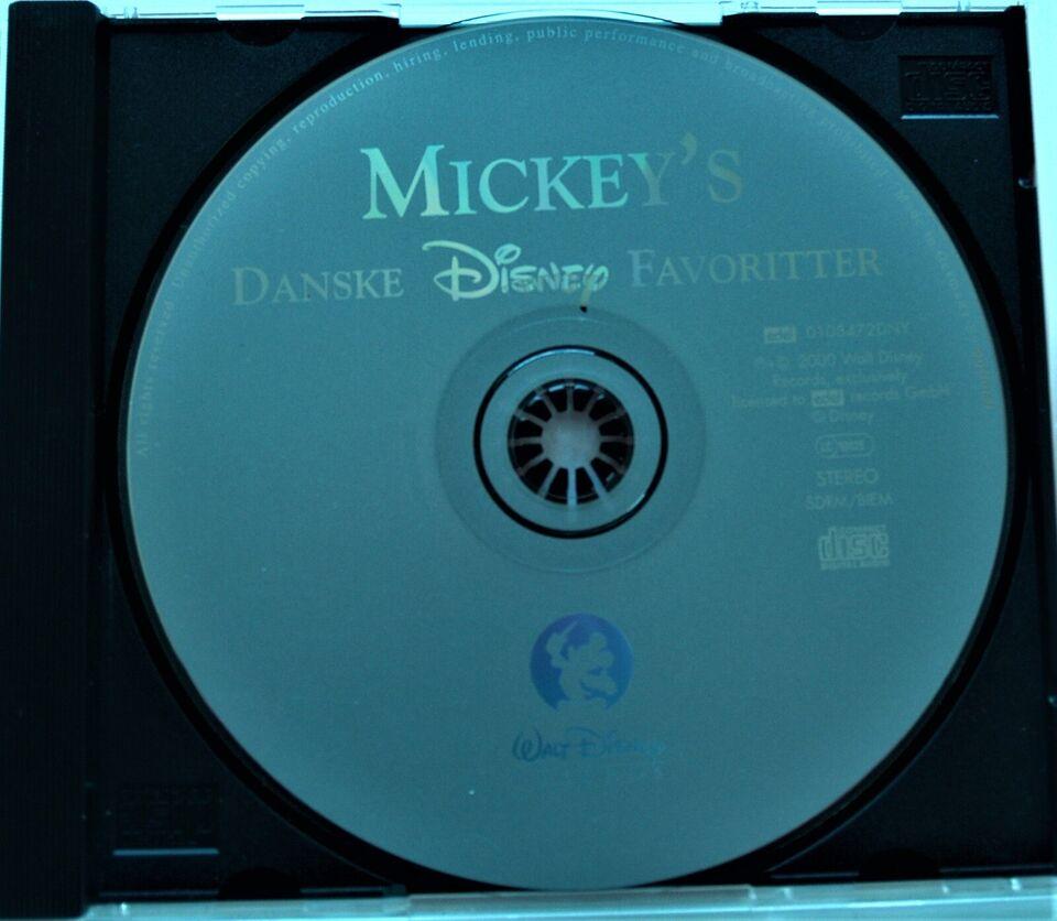 Disney - Diverse Danske: Mickey Mouse: Danske Disney