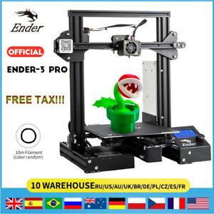 Creality Ender 3 pro 3D Drucker Magnetisch Bett 220X220X250MM MK8 Extruder DE