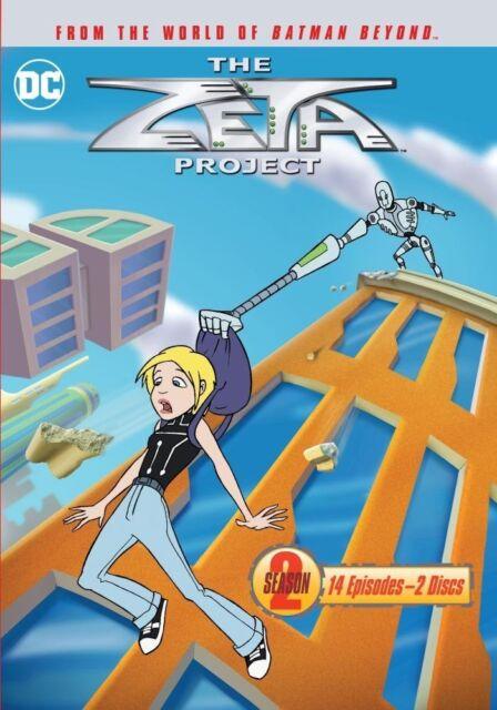 EL ZETA PROJECT : COMPLETO SEASON 2 - DVD UK Compatible - Sellado