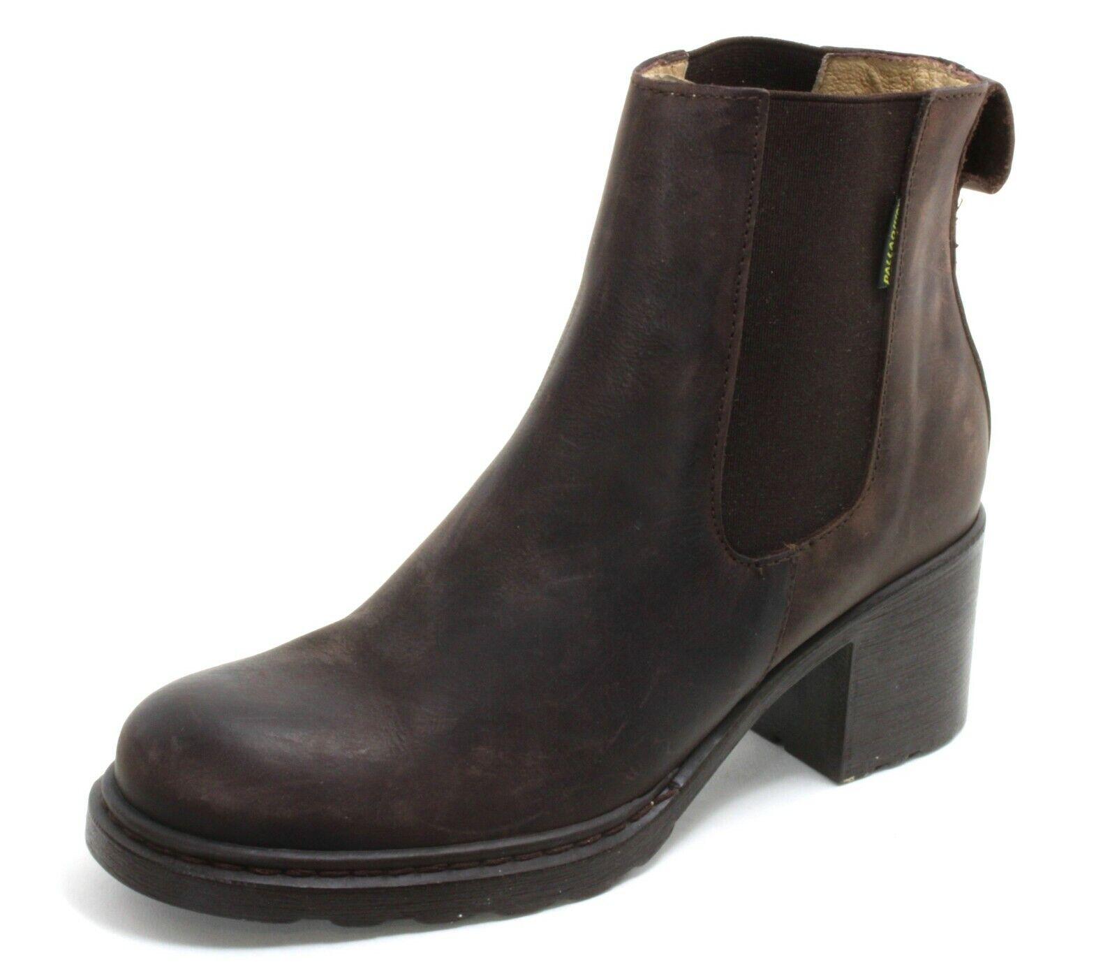 323 Botas de Cuero 90er Botas Chelsea Zapatos Mujer Botines Palladium 40