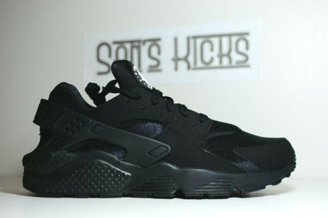 Size 8.5 - Nike Air Huarache Triple Black 2013