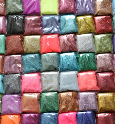 Glitter-BUY 5 GET 2 FREE bulk pack glass covering art craft ultra fine bag