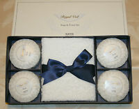 Noevir Royal Veil 3-piece Soap & Towel Set - Gift Set / Bath Sets In Gift Box
