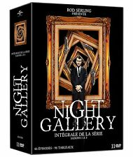 INTEGRALE DVD NIGHT GALLERY SAISON 1 A 3 NEUF DIRECT EDITEUR