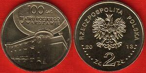 "Poland 2 zlote 2013 /""Centenary of the Polish Theatre/"" UNC"