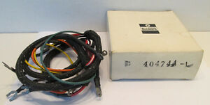 image is loading nos-chrysler-outboard-force-wiring-harness-404744-1