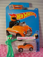 Case D/E 2016 i Hot Wheels PEDAL DRIVER #67✰Orange/Chrome;5sp✰HW Ride-ons✰Track