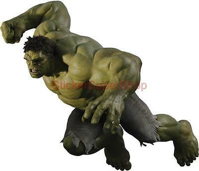Choose Size - The Avengers HULK ATTACK Removable WALL STICKER Home Decor Art