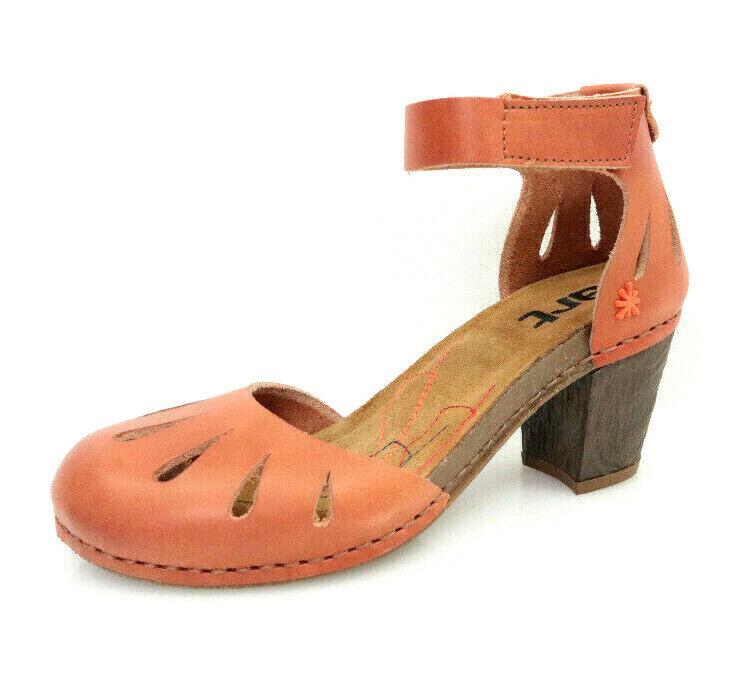 Art 0144 Mojave Vachetta Geschlossene Damen Schuhe Sommer Sandalen Braun Neu