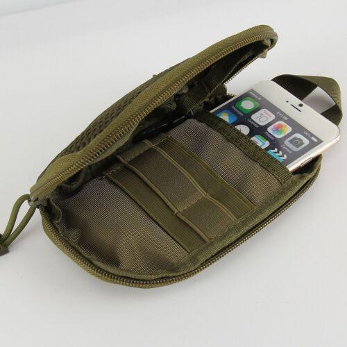 Outdoor Tactical Militär Molle Phone Gürteltasche Gym Wanderntasche Bauchtasche