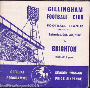 1965-66-GILLINGHAM-V-BRIGHTON-02-10-1965-Division-3