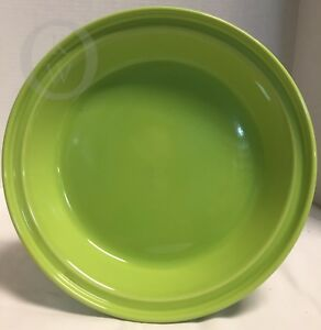 Image is loading NIB-Fiesta-Fiestaware-Chartreuse-Green-10-1-8- & NIB*Fiesta Fiestaware* Chartreuse Green*10 1/8\