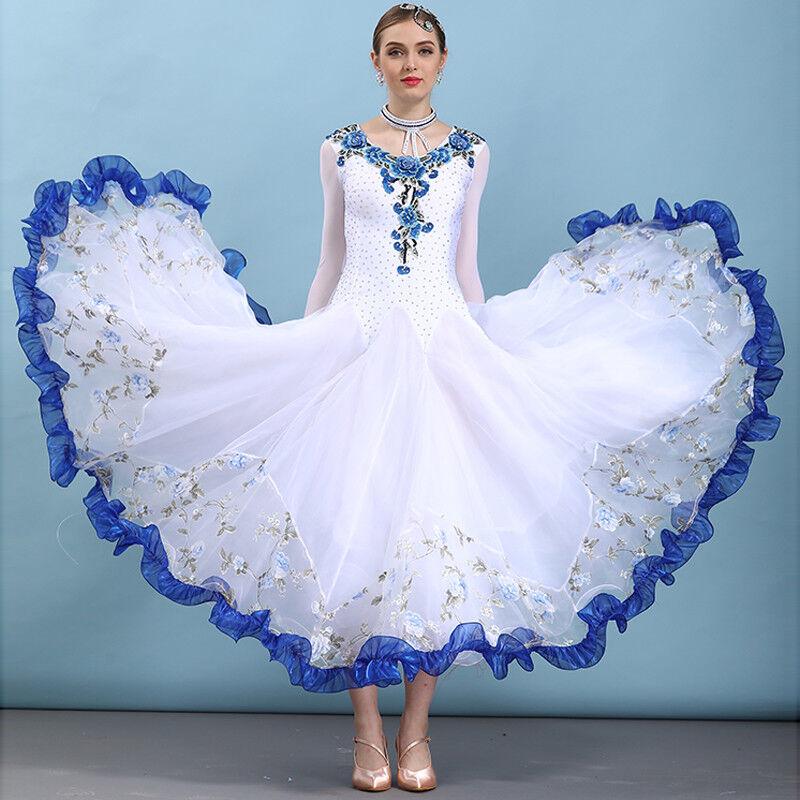 NEU Latino salsa Kleid TanzKleid Standard LatinaKleid Latein Turnierkleid NN096