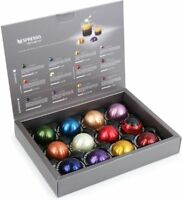 16 Nespresso Capsules SAMPLE BOX of all 16 CoffeeS! Great Gift!
