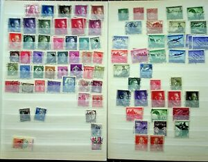 GERMANY: SUPER MASSIVE COLLECTION OF STAMPS FROM WWII AND UP ALL ON NEATLY MADE