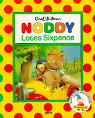 Noddy Loses Sixpence(Pb) (Noddy's Toyland Adventures), BBC, Very Good Book