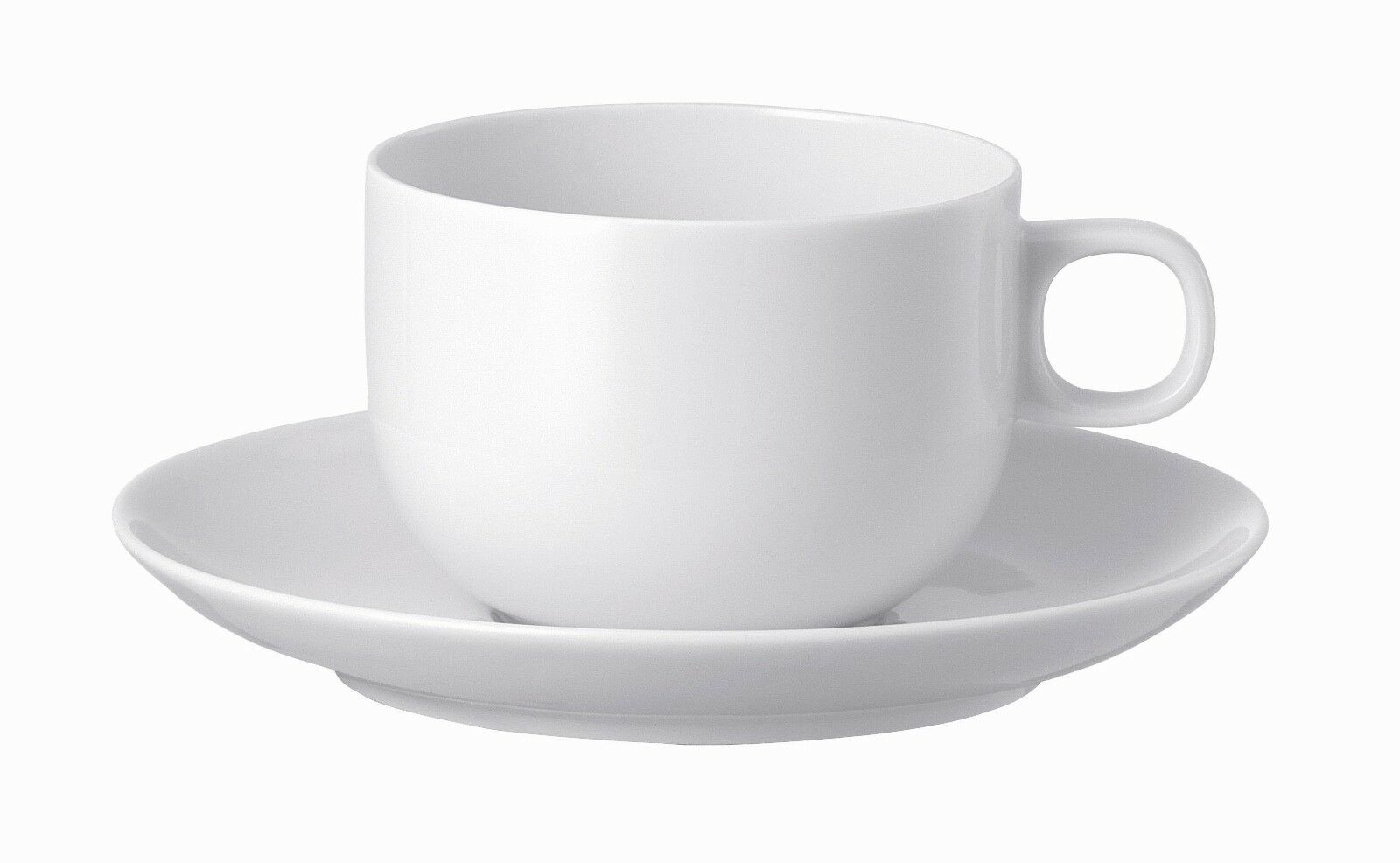 Rosenthal 'Moon' blanc Coffee Cup & Saucer Sets (6)