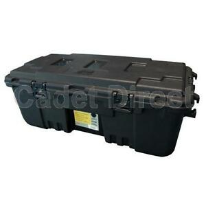 Image Is Loading Plano Military Storage Trunk Locker Box Black Lockable