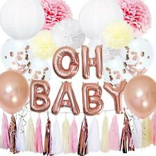 Twintastic Banner Twins Baby Shower Banner Gold Mirror Card Bunting Garland