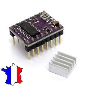 DRV8825 Moteur driver 3D CNC Imprimante 3D Contrôle Moteur+Dissipateur TimerMart