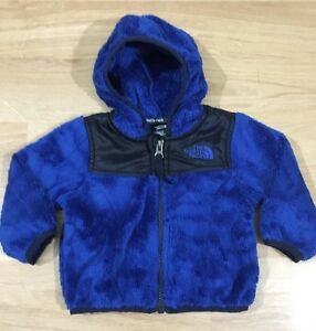dcb841d07b99 The North Face Full Zip Fleece Jacket Baby Toddler Size 3-6 Months ...