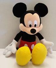 "Disney Parks Hong Kong Resort Mickey Mouse 10"" Plush Stuffed Animal Toy EUC"
