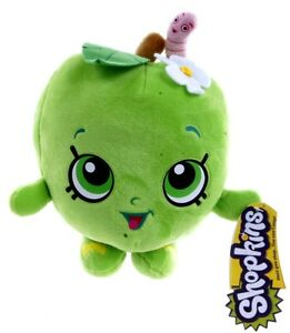 Attractive Image Is Loading NEW OFFICIAL 9 034 SHOPKINS SOFT TOY APPLE
