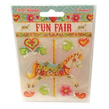 CAROUSEL - Clear Stamp Set - Helz Cuppleditch Fun Fair Collection