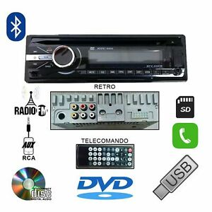 AUTORADIO-60Wx4-STEREO-AUTO-LETTORE-CD-DVD-MP3-AUX-USB-SD-VIVAVOCE-BLUETOOTH