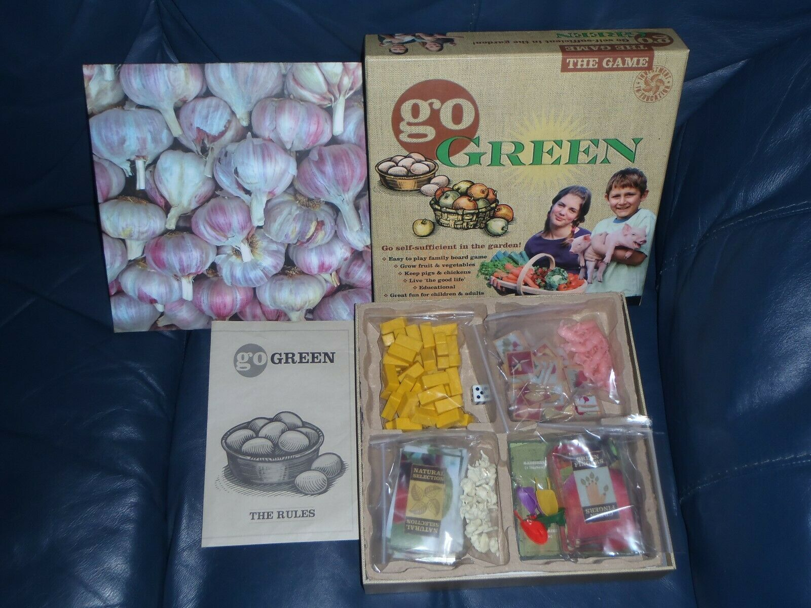 GO GREEN Self Sufficient Garden Educational Board Game