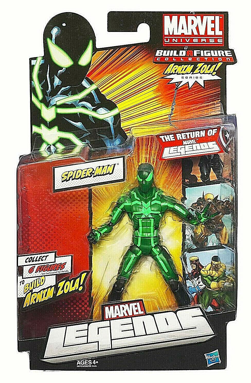 The Return of MARVEL LEGENDS_Big Time SPIDER-MAN 6   figure_Build ARNIM ZOLA_MOC