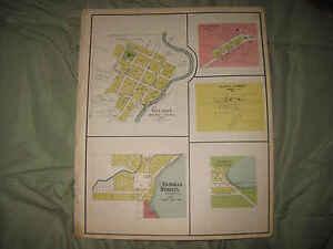 ANTIQUE 1924 WILMOT TICHIGAN NEW MUNSTER RACINE KENOSHA COUNTY ... on