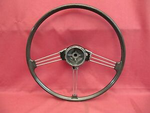 New Steering Wheel Center Motif  MGB 1968 1969 1970 Great Quality