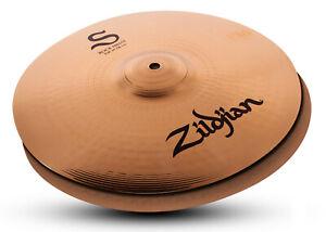 "New Zildjian S Family Rock 14"" HiHats Pair S14RPR Cymbals Hi Hats"