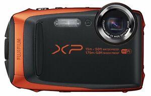 Fujifilm-FinePix-XP90-16-4MP-5x-orange-etanche-camera-certifie-remis-a-neuf