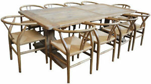 RIHANNA-FARMHOUSE-SOLID-OAK-TABLE-2-45-M-TABLE-BRAND-NEW-IN