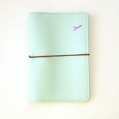 New Travel Leather Passport Holder Card Case Protector Cover Wallet Bag