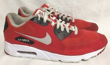 huge discount 57392 23147 item 3 Nike Air Max Ultra Essential Action Red-Pure Platinum-Black  819474-600 Men s 10 -Nike Air Max Ultra Essential Action Red-Pure Platinum- Black ...
