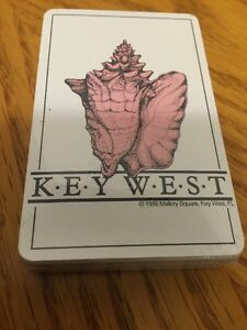 Key west Deck 1986 Florida Playing Cards  NIP
