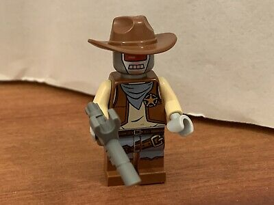 M305G13 The Lego Movie Deputron Minifigure /& Blaster Gun 70800 NEW