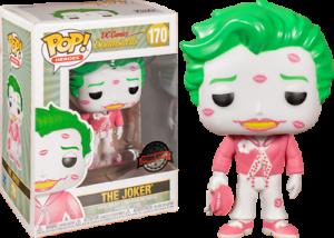 RS Joker with Kisses Pink /& White US Exclusive Pop Vinyl DC Bombshells -F...
