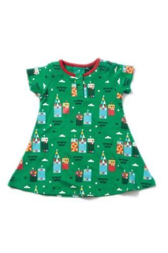 Little Green Radicals Organic Playaway Dress Magic Sandcastle 2 3 4 5 6 7 8