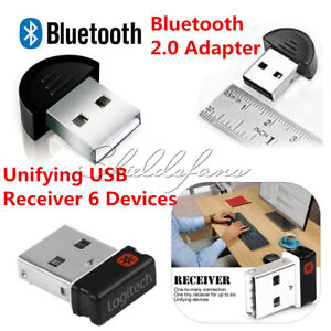 56f9d46466c Unifying Receiver 1 to 6 Devices For Logitech USB Wireless Keyboard ...